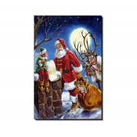 Quality Eco Friendly Lenticular Card Printing / Holiday Lenticular 3d Greeting Cards for sale