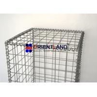 Quality High Durability  Welded Gabion Baskets For Retaining Walls PVC Coated for sale