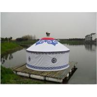 Quality Anti - Ultraviolet Mongolian Yurt Tent With Thickening Acupuncture Cotton for sale