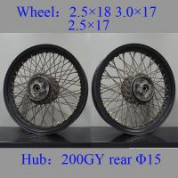 Quality Front Spoked Motorcycle Wheels Durable Universal Type For Biz Disc for sale