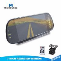 Quality High Resolution Monitor Rear View Mirror Vehicle Reverse Camera Systems for sale