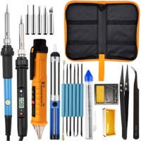 China UK Plug 60W 80W K01S Soldering Iron Kit 1.4M Wire Length for sale