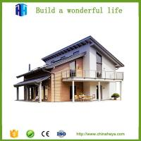 Quality sound proof steel frame prefabricated villa house construction in india for sale
