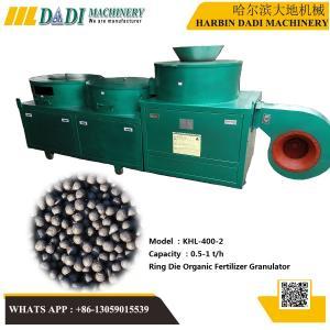 Quality KHL-400-2 organic fertilizer granules mill for sale