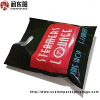 Quality PE Material Die Cut Handle Plastic Bags Stand Up Pouch Recyclable For Shopping for sale