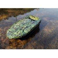Quality OEM / ODM Camouflage bait boat , gps autopilot bait boat rc type 2.4GHz for sale