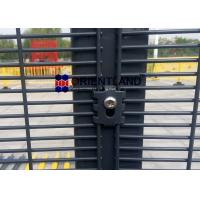 Quality Anti Climb 358 Wire Mesh Security Panels 76.2mm×12.7mm Corrosion Resistance for sale