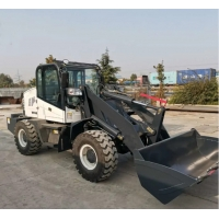 Buy cheap 0.6M3 Bucket Front End Wheel Loader Machine For Construction Industry from wholesalers
