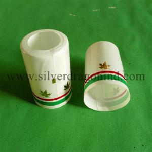 PVC shrink cap seals with tear strip for olive oil