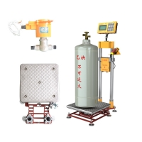 China Safe 50Hz Co2 Gas Class 3 Cylinder Filling Scale for sale