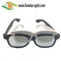 Quality plastic circular polarized 3d glasses China factory bulk for sale