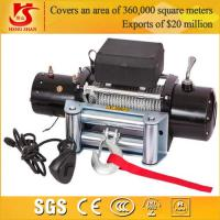 Quality 12v 9000lbs mini winch for 4X4 / car winch / electric car winch 12v for sale