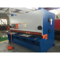 Quality 15kw CNC Metal Sheet Cutting Machine Hydraulic Guillotines Type for sale