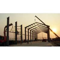Quality PEB Metal Buildings Customized Design Easy Construction Erection For Oil & Gas Industry for sale