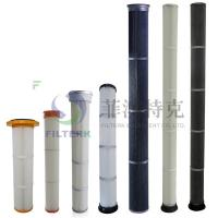 Quality Pulse Jet Bag Cartridge Filter Element For Dust Collecting 153 * 1000mm Dimension for sale