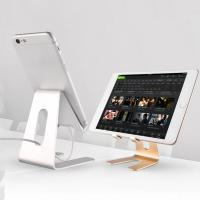 Best 4-8inch Portable Aluminumn Metal Tablet Desk Stand Holder Universal Cellphone Mount wholesale