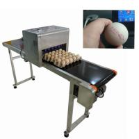 China Egg Thermal Inkjet Printer/ Industrial Ink Jet PrinterWith ABC Standard Font on sale