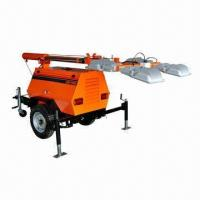 Buy cheap All-direction truck type light tower from wholesalers