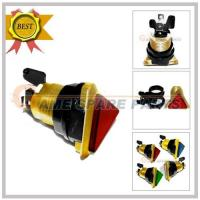 Quality Triangle Illuminated Electroplating Push Button(red),Cap Dia:38*38*38mm for sale