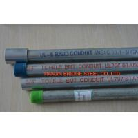 Buy UL797 Electrical EMT Pipe SPHC , S185 , 80mm / 100mm , Beveled / Plain at wholesale prices