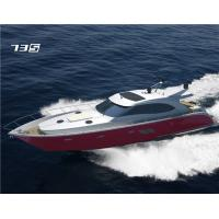 Buy cheap Diesel Engine FRP Fiberglass Sport Motor Yachts / 70 Feet High Speed Boat from wholesalers
