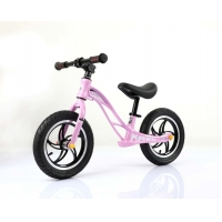 Quality Fashion 12inch Magnesium Alloy Baby Push Bike Children Balance Bike For 2-6 Years With Aluminum One Hot Wheel for sale