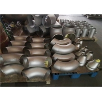 Quality SGS DIN2605 90 Degree Butt Welded Pipe Fitting Elbow Cold Forming for sale