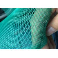 High Density Green Plastic Insect Mesh 20x20 Mesh With Colored Weaved Edge