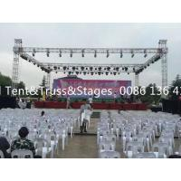 Quality DIY 6802-T6 / 6061-T6 Line Array Arch Aluminium Stage Truss 500-1500kg Loading for sale