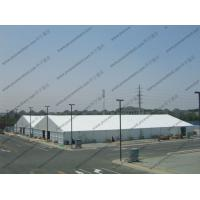 Quality Aluminum Frame Outdoor Warehouse Storage Tent With Sandwich / ABS Sidewalls for sale