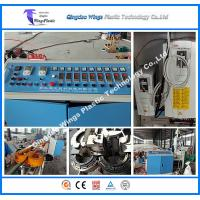 China PE / PVC / PP Single Wall Corrugated Pipe Extrusion Line Plastics Extruder on sale
