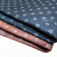 Quality Printed felts, customized patterns are accepted, suitable for bags and shoes for sale