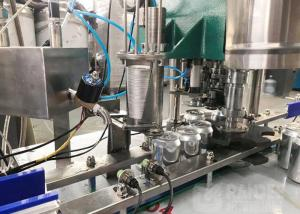 Quality Automatic 12 Heads 6000cph Tin Can Aluminum Beverage Soda Can Filling And Sealing Machine for sale