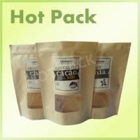 Best Zipper Rice Paper Kraft Stand Up Pouches High Temperature Resistant Laminated wholesale