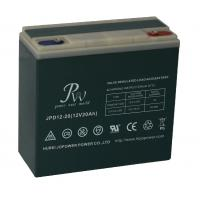 Quality 12V 20AH Rechargeable Sealed Lead Acid Battery For Electric Scooter / Electric Bicycle for sale