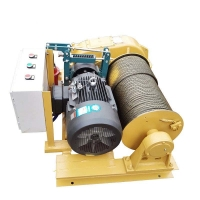 Quality 2400m Rope Double Speed Industrial 380V Marine Electric Winch for sale