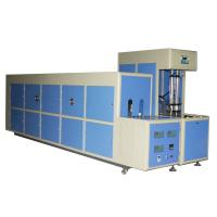 China 7kw Semi Automatic Plastic PET Stretch Blow Molding Machine for Hot Fill Bottles 6000ML on sale