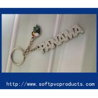 Quality Letter / Alphabet Metal Custom Key Chains / Personalized Monogrammed Key Chain Rings for sale