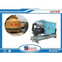 China Water Cooled Screw Water Chiller 4 Inch Pipe Connection For Blow Molding Machine on sale