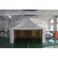 Quality Aluminum Structure High Peak Tents 6m x 6m , Free Span Space High Peak Pole Tent for sale
