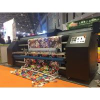 China Indoor / Outdoor Fabric Printing Equipment Xaar Print Heads For Home Decoration on sale