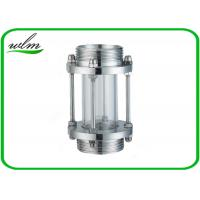 China Sanitary Straight / Inline Pipe Sight Glass Male Thread Connection , Reducing Shaped on sale