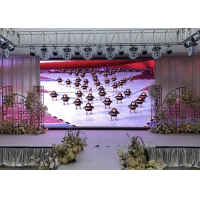 Quality 650W/m2 SMD1515 Indoor Rental Advertising Panel 2.5mm Pixel for sale
