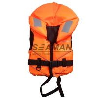 China Orange Rescue Water Sport Life Jacket 100N CE Certificate Nylon EPE foam on sale