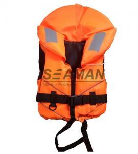 China Orange Rescue Water Sport Life Jacket 100N CE Certificate Nylon EPE foam on sale