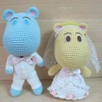 China Crochet Doll Toy, Made of Cotton, Suitable for Children on sale