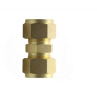 Quality Brass Double Ferrule Compression Fittings  With Swagelok for sale