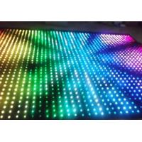 Quality Star LED star cloth cloth 7 colour video stage curtain for sale