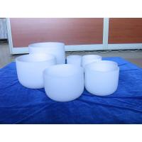 China Arts and Crafts frosted singing bowl one set from 6inch to 12inch on sale