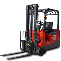 CPD1530 1500kg 4 Wheel Compact Electric Battery Operated Forklift for sale